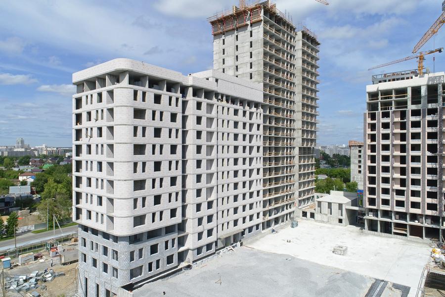 В следующих очередях ЖК Live, который АСК строит в районе Юг - Центр, будут использованы новые твинблоки