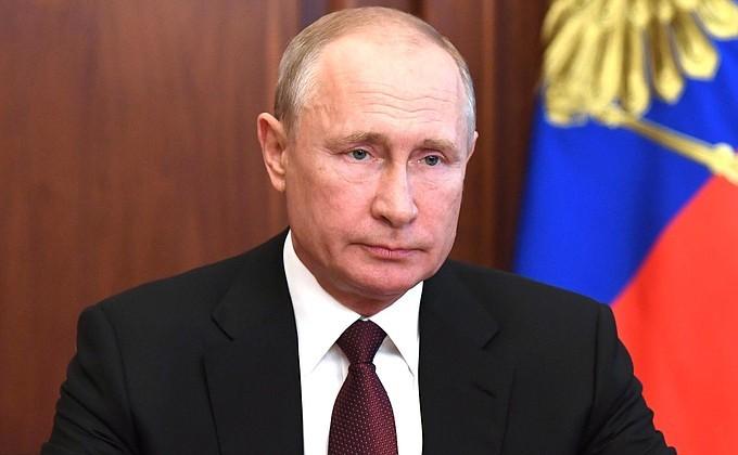Владимир Путин вновь обратился к россиянам 23 июня. Фото: kremlin.ru