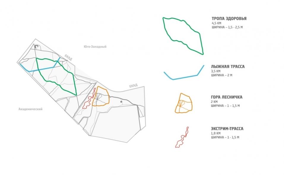 Проект обновления лесопарковой зоны на Юго-Западе