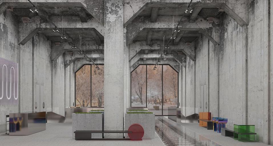 Московские дизайнеры превратили заброшенный челябинский элеватор в культурный центр 2