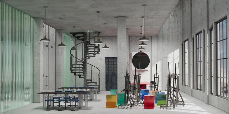 Московские дизайнеры превратили заброшенный челябинский элеватор в культурный центр 9