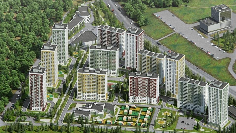 12 жилых домов, детский сад и ТЦ. Ведущий нижегородский девелопер начал строить новый ЖК 1