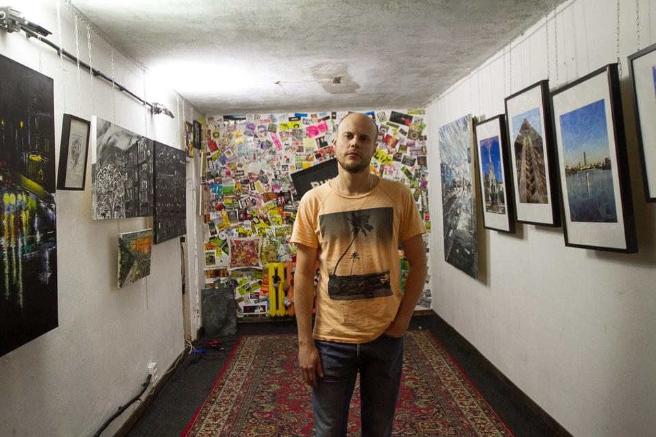 Картинная галерея в офисе