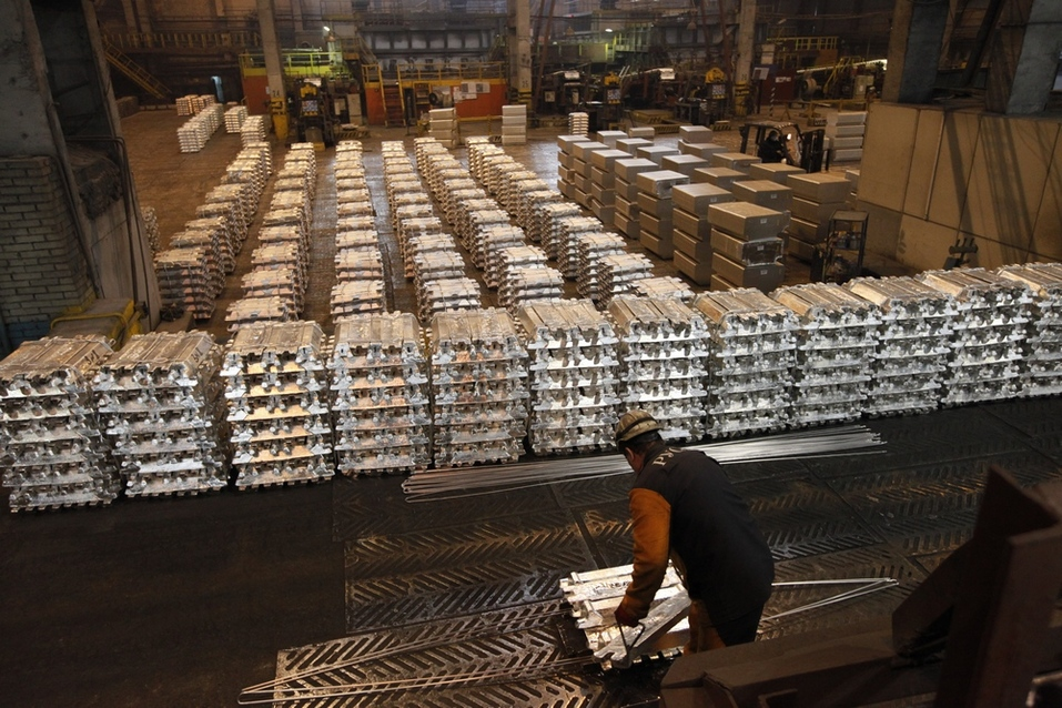 Красноярский алюминиевый завод: все идет по плану 1