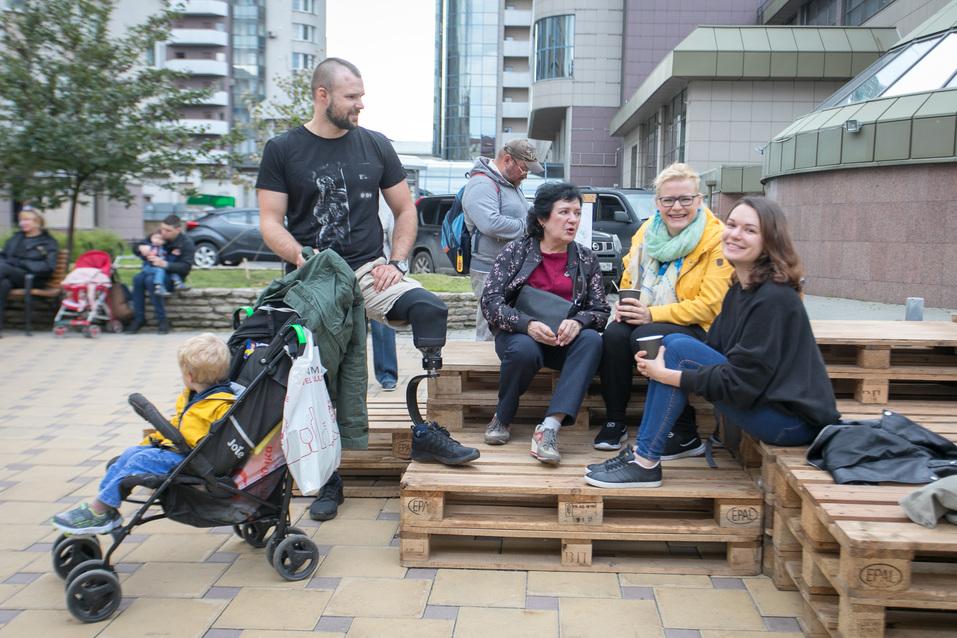 Тактический урбанизм на Красноармейской