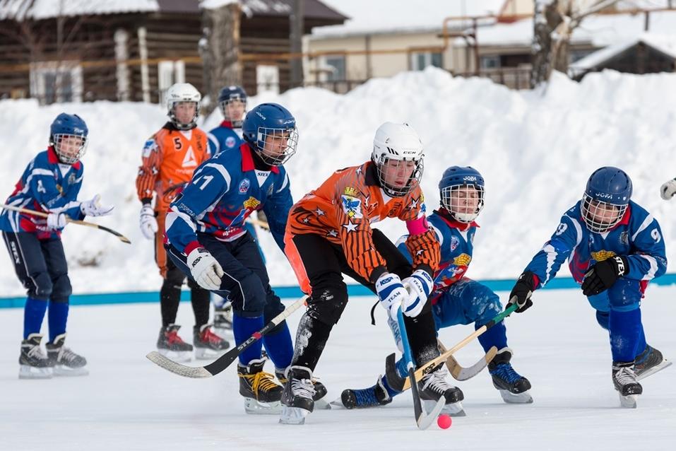Детская хоккейная команда