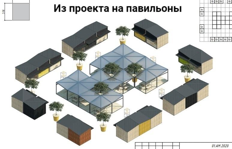 Ожидание и реальность: в Челябинске обнаружили проект ярмарки на площади Революции 2