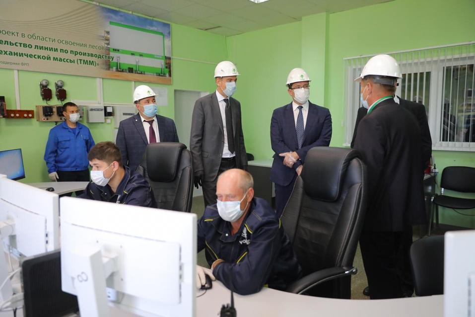 Инвестиции на 1,5 млрд. Бумкомбинат запустил новую производственную площадку 1
