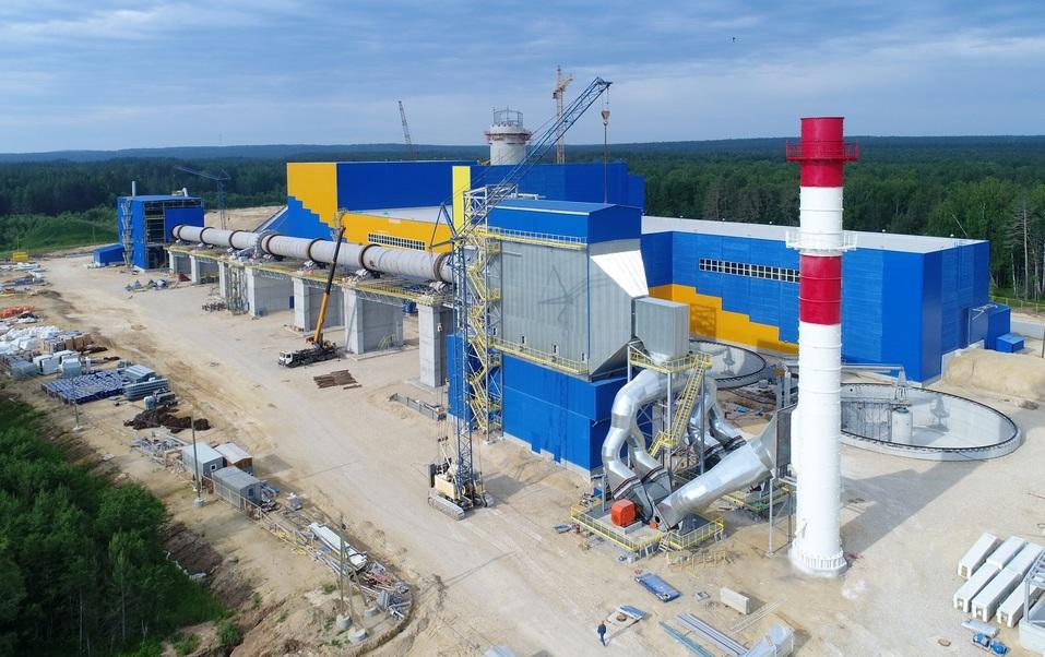 Цементный завод в Сысерти