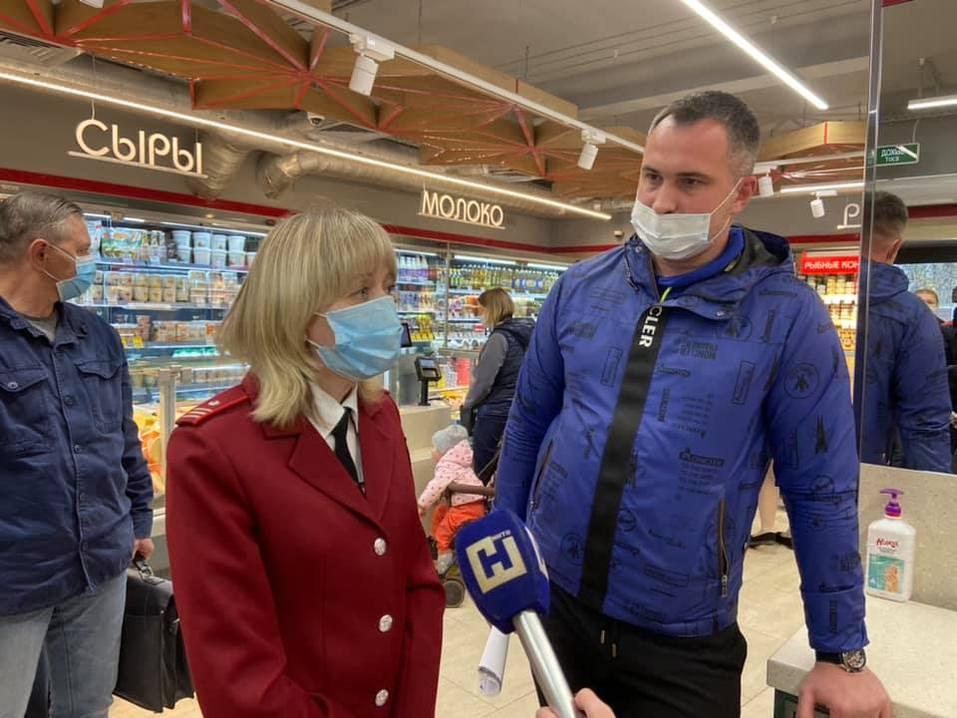 Три продуктовых магазина в Нижнем Новгороде закрыли из-за угрозы COVID 2