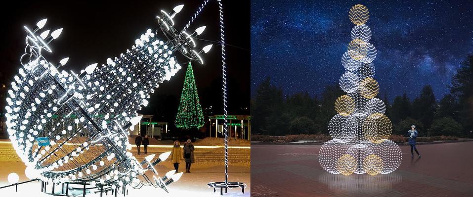 Инсталляции, качели и звездный свет: как изменится Центральный район к Новому году 3