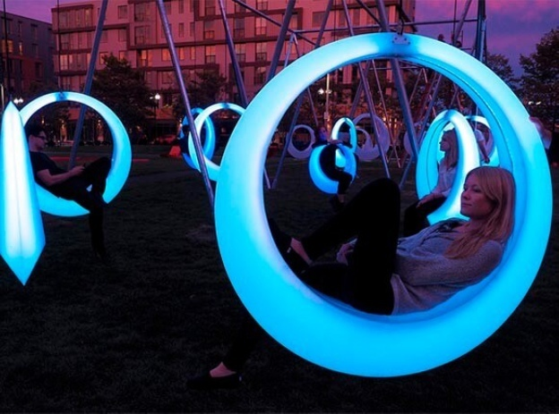 Инсталляции, качели и звездный свет: как изменится Центральный район к Новому году 1