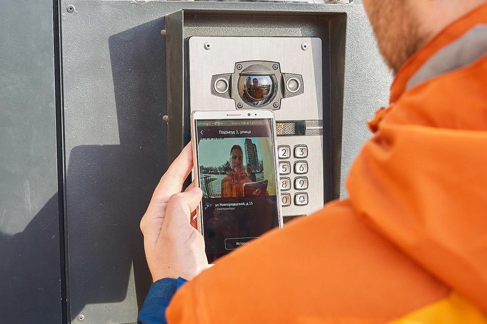 МТС подключила умный домофон в жилом комплексе Екатеринбурга 1