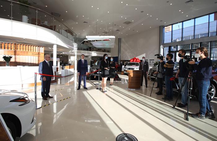 Открытие нового дилерского центра Лексус – Красноярск 1