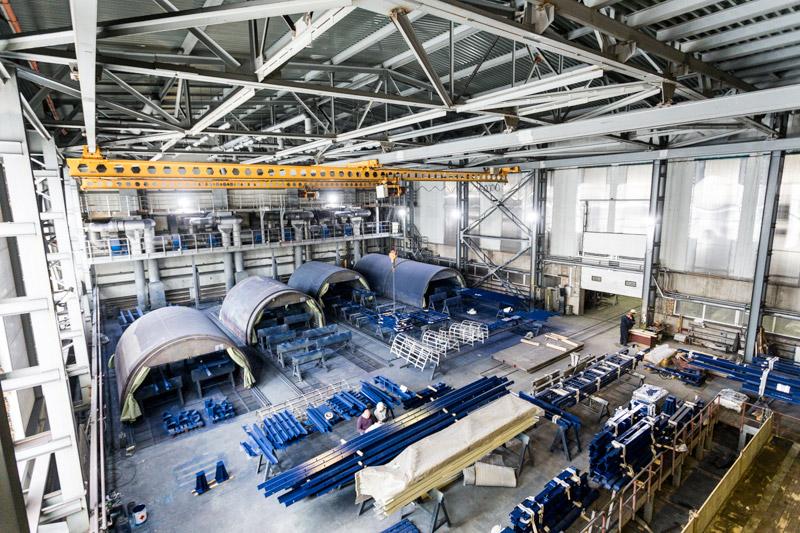 ЗАО «ВОСТОКМЕТАЛЛУРГМОНТАЖ-1»: строим заводы «под ключ» 6