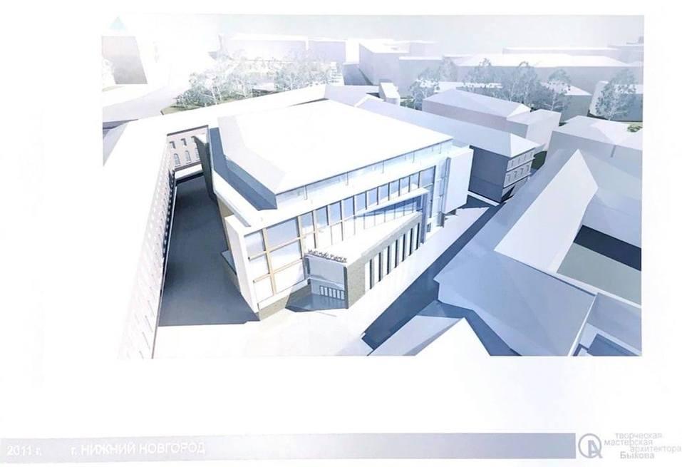 Опубликован проект торгового центра на месте Мытного рынка 1