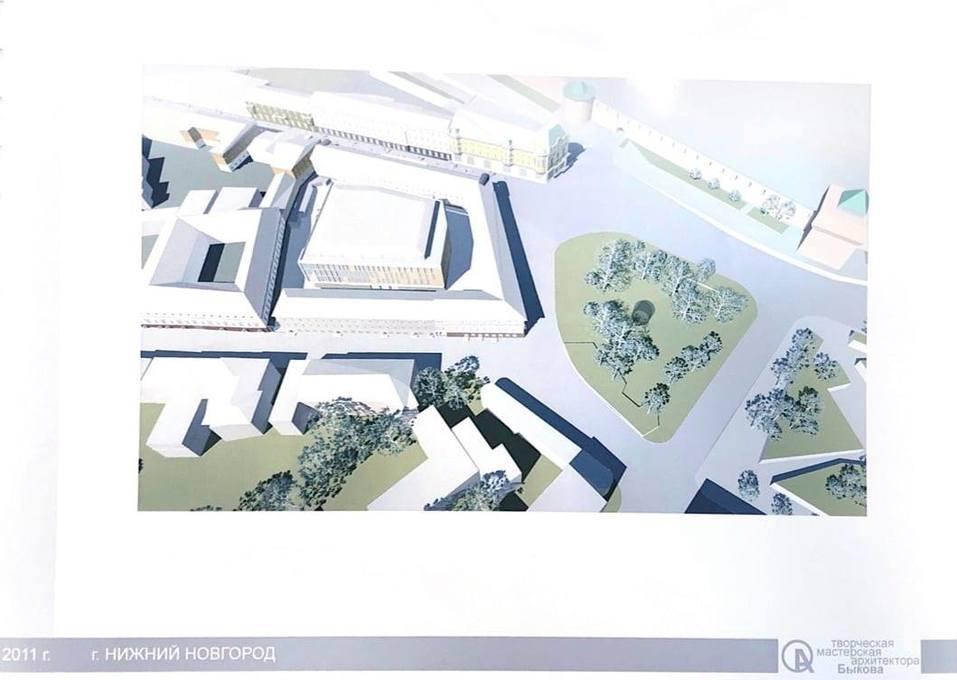Опубликован проект торгового центра на месте Мытного рынка 2