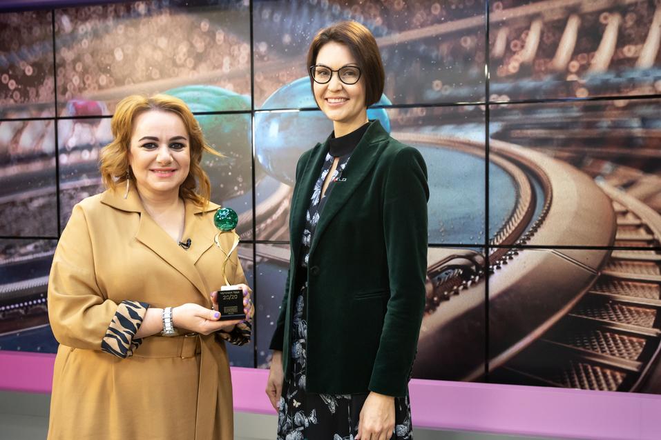 Айше Агекян и Татьяна Флеганова
