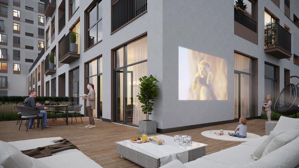 Найди пять отличий: в «Европейском Береге» стартовали продажи дома-близнеца 1