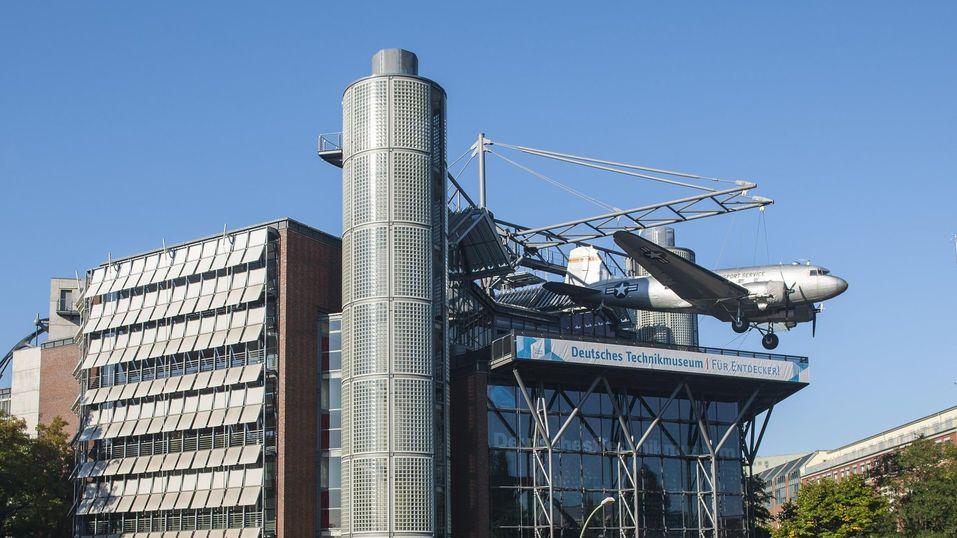 Здание Технического музея в Берлине. Фото: technikmuseum.berlin