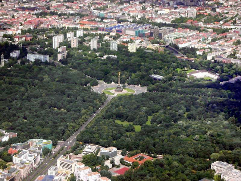 Большой Тиргартен в Берлине — девственный парк-лес размером 200 гектаров. Фото: toberlin.ru