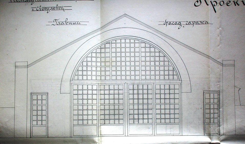 Проект уличного фасада