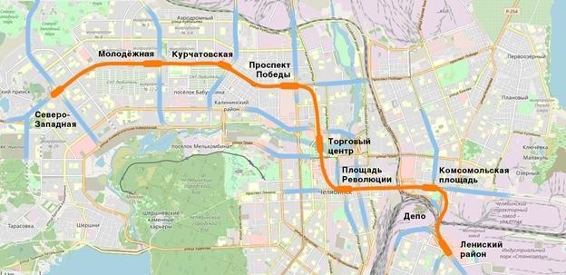 В Челябинске представили новые варианты развития метро 1