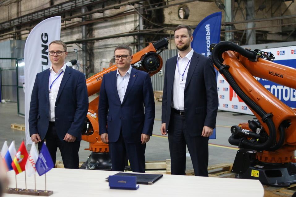 ЧКПЗ начинает сотрудничать с лидерами рынка промышленной робототехники 3