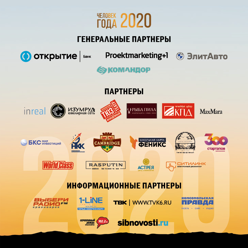 В Красноярске вручили премию «Человек года» за благоустройство 2