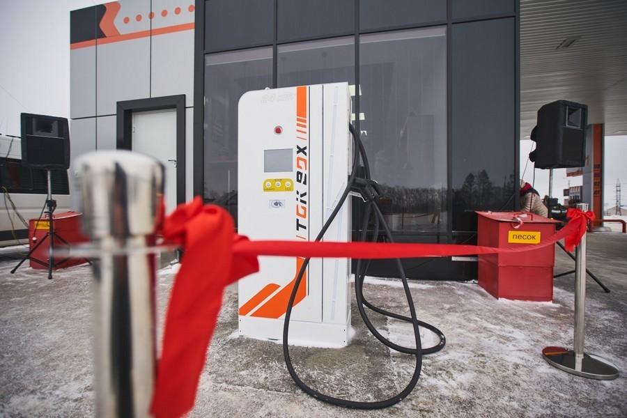 Первая зарядная станция для электромобилей открыта в области 3