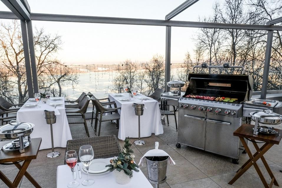 "Ресторан на свежем воздухе, BBQ и личный повар на веранде Галереи вкуса ""Парк Культуры"" 1"