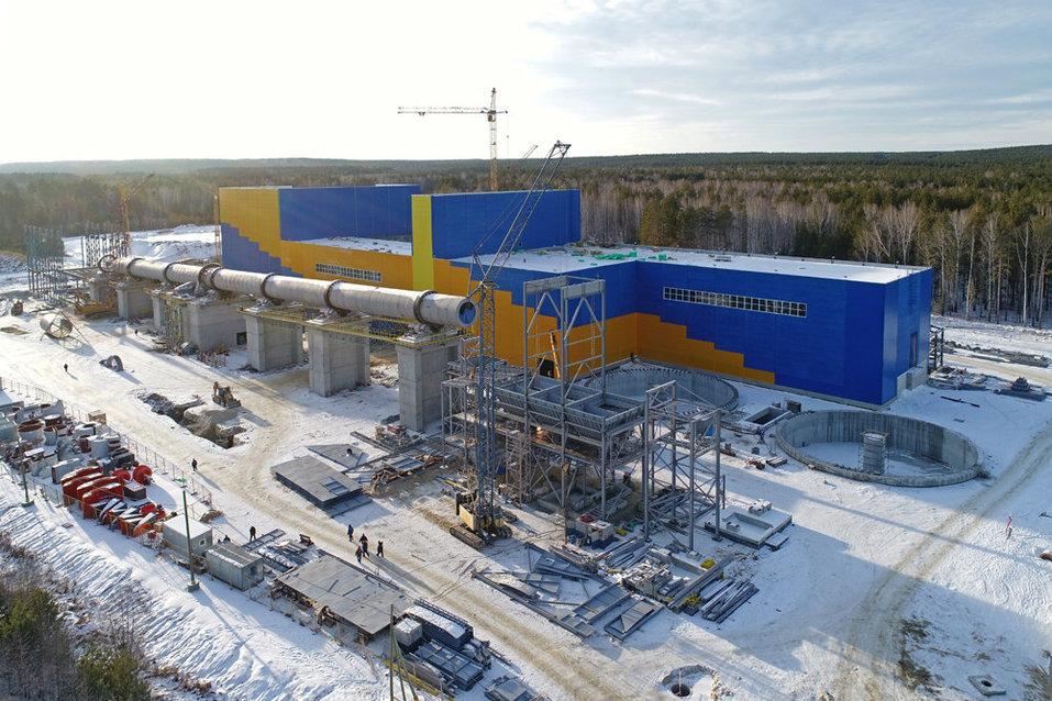 Цементный завод АСК под Сысертью. Фото: «Атомстройкомплекс»