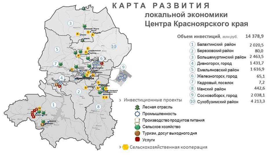 Министр экономики Егор Васильев – об инвестиционной карте региона 6