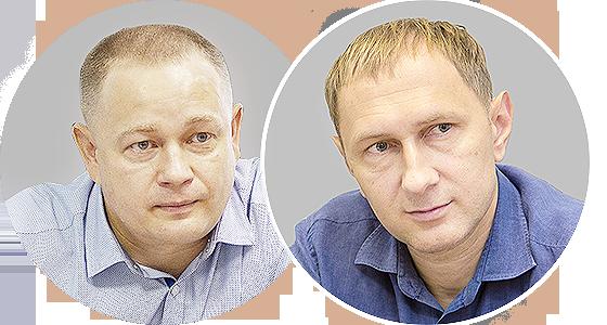 Денис Румянцев и Максим Ситников