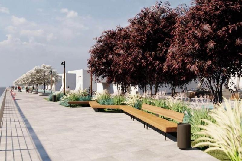 Полгода и 50 млн: стали известны детали проекта благоустройства набережной у «Мегаполиса» 2
