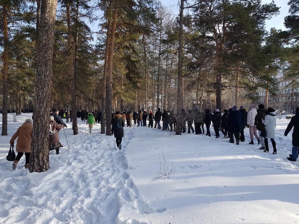 Прогулка с препятствиями: вторая волна несанкционированных митингов в Челябинске. ВИДЕО 2
