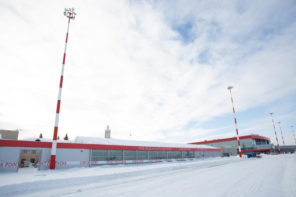 В челябинском аэропорту завершается стройка: он обслужит на 600 тыс. пассажиров больше  2