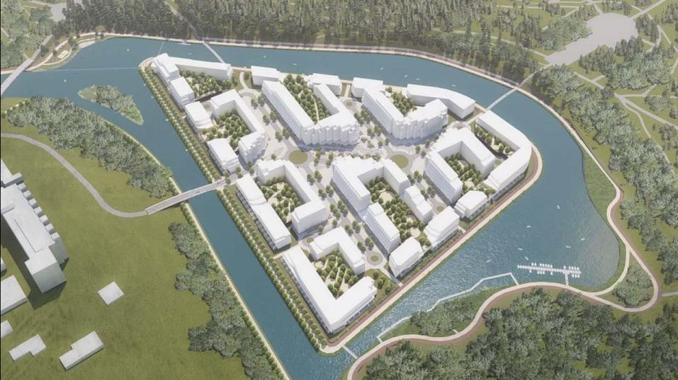 Как в Петербурге: у ЦПКиО построят искусственный остров и жилой комплекс 1