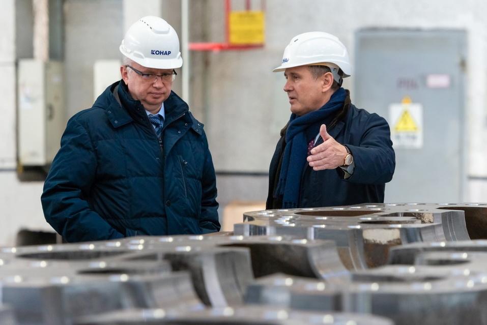 Руководители Сбербанка посетили индустриальный парк «Станкомаш» 1