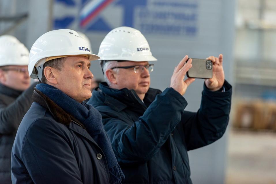 Руководители Сбербанка посетили индустриальный парк «Станкомаш» 2