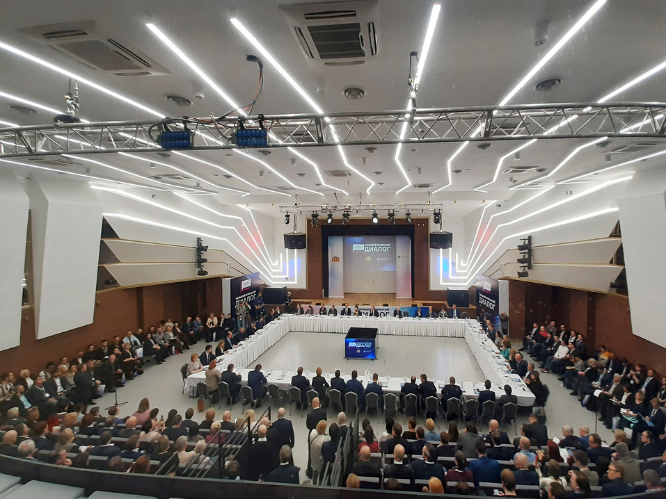 Конференц-залы 2021 — Деловой квартал 11
