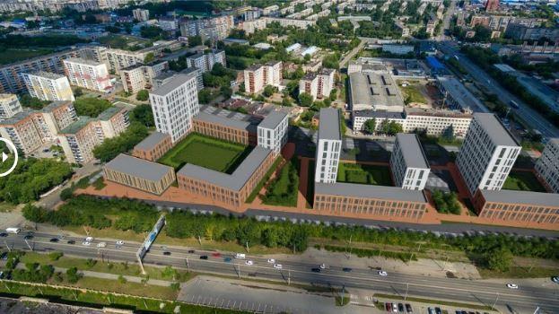 На месте промзоны «КОНАР» на проспекте Ленина построят элитный жилой комплекс 2