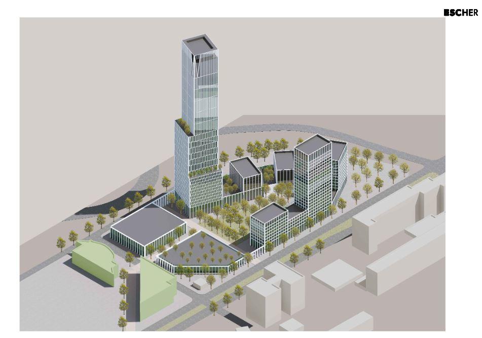 В центре Челябинска планируют построить 55-этажный небоскреб на месте исторических зданий 2