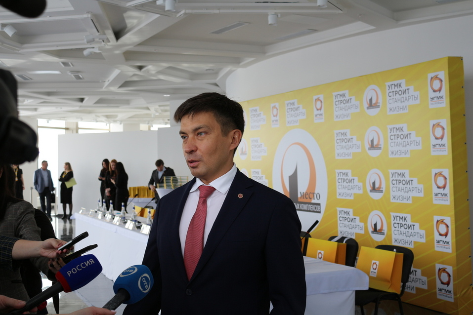 Евгений Мордовин на пресс-конференции