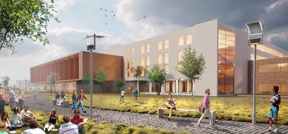 Для студентов и лицеистов. Архитекторы показали эскизы будущего кампуса УрФУ 1
