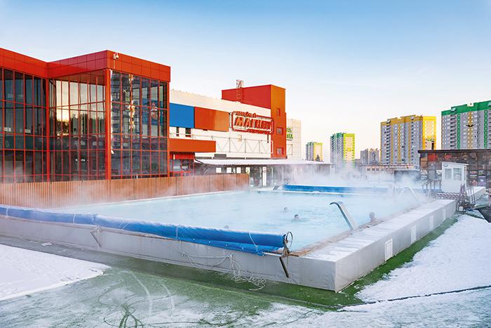 В Красноярске строится термальный бассейн под открытым небом 3