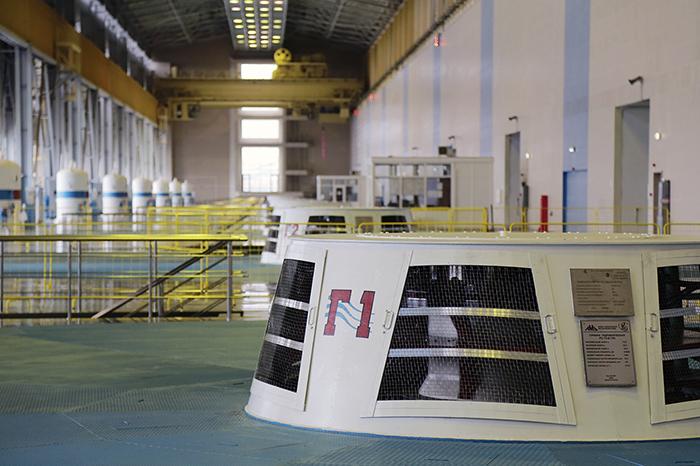Богучанская ГЭС: режим включенности 1