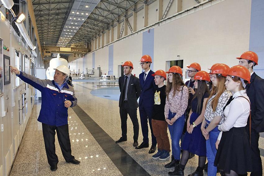 Богучанская ГЭС: режим включенности 2
