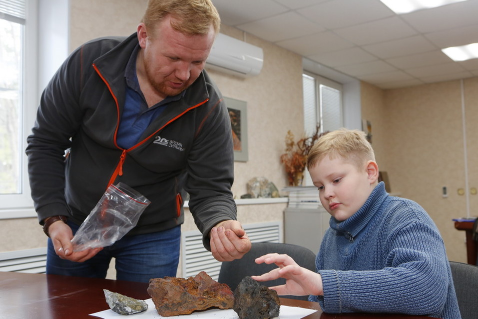 Клуб юных геолого. Фото: пресс-служба Полиметалл