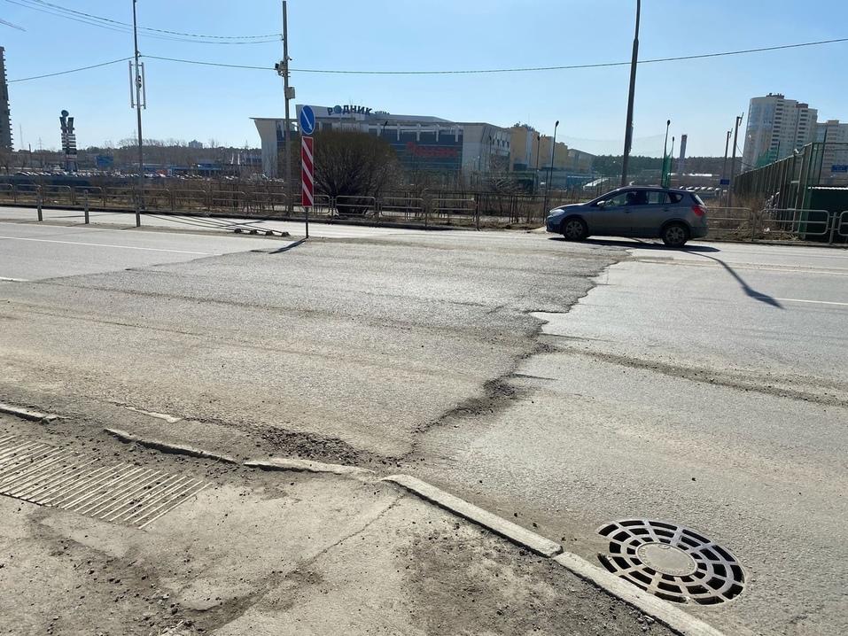 Широкие трещины и серьезные дефекты на годовалых дорогах: подрядчикам вынесены предписания 2